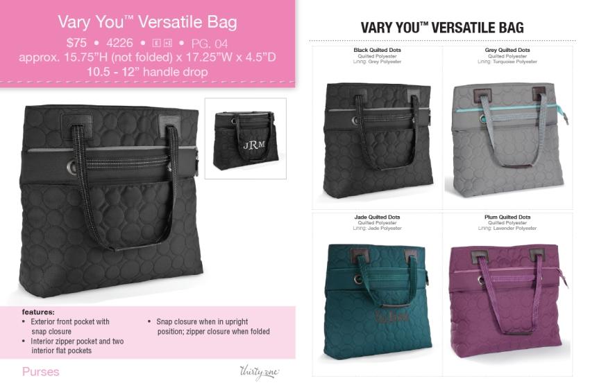 Thirty One Vary You Versatile Bag